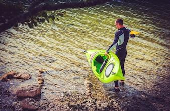 Preparazione per Kayak Trip