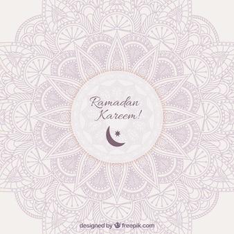 Priorità bassa ornamentale per il Ramadan Kareem