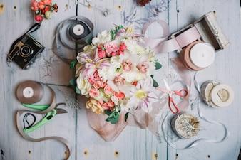 """""""Bella impostazione su bouquet e decor"""""""