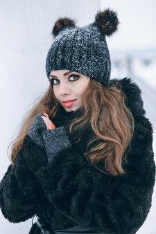 Ragazze in inverno