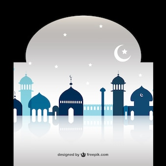 Ramadan moschea sagome
