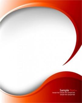 rosso, arco modello vettoriale sfondo