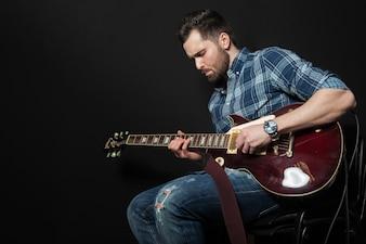 Seduta chitarra