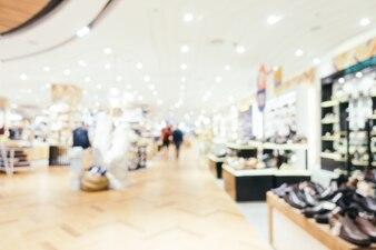 Sfocatura astratta e bokeh defocused centro commerciale del grande magazzino