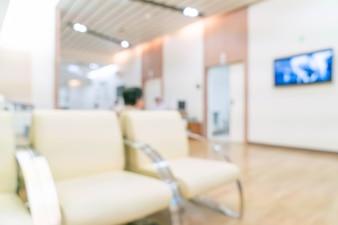 Sfocatura astratta in ospedale