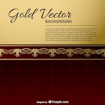 Sfondi vintage oro nero