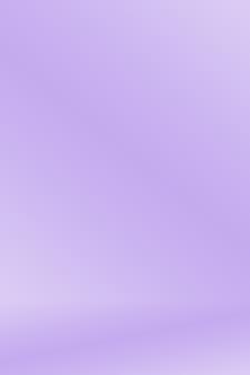 Sfondo liscio liscio elegante Gradazione viola bene usando come disegno.
