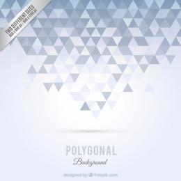 Sfondo poligonale in toni di grigio
