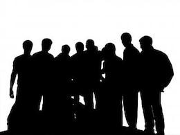 silhouette di persone