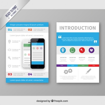 Smartphone brochure