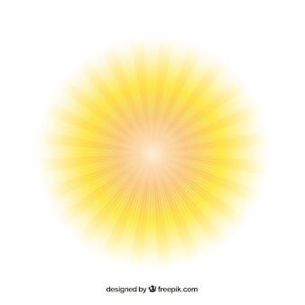 Sole splendente
