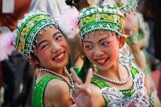 Sorrisi dalla Cina ...