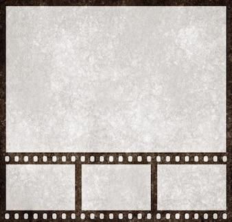 Striscia di pellicola grunge modello di presentazione