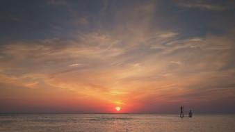 Surf Paddle al tramonto