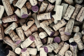 Tappi per vino usati