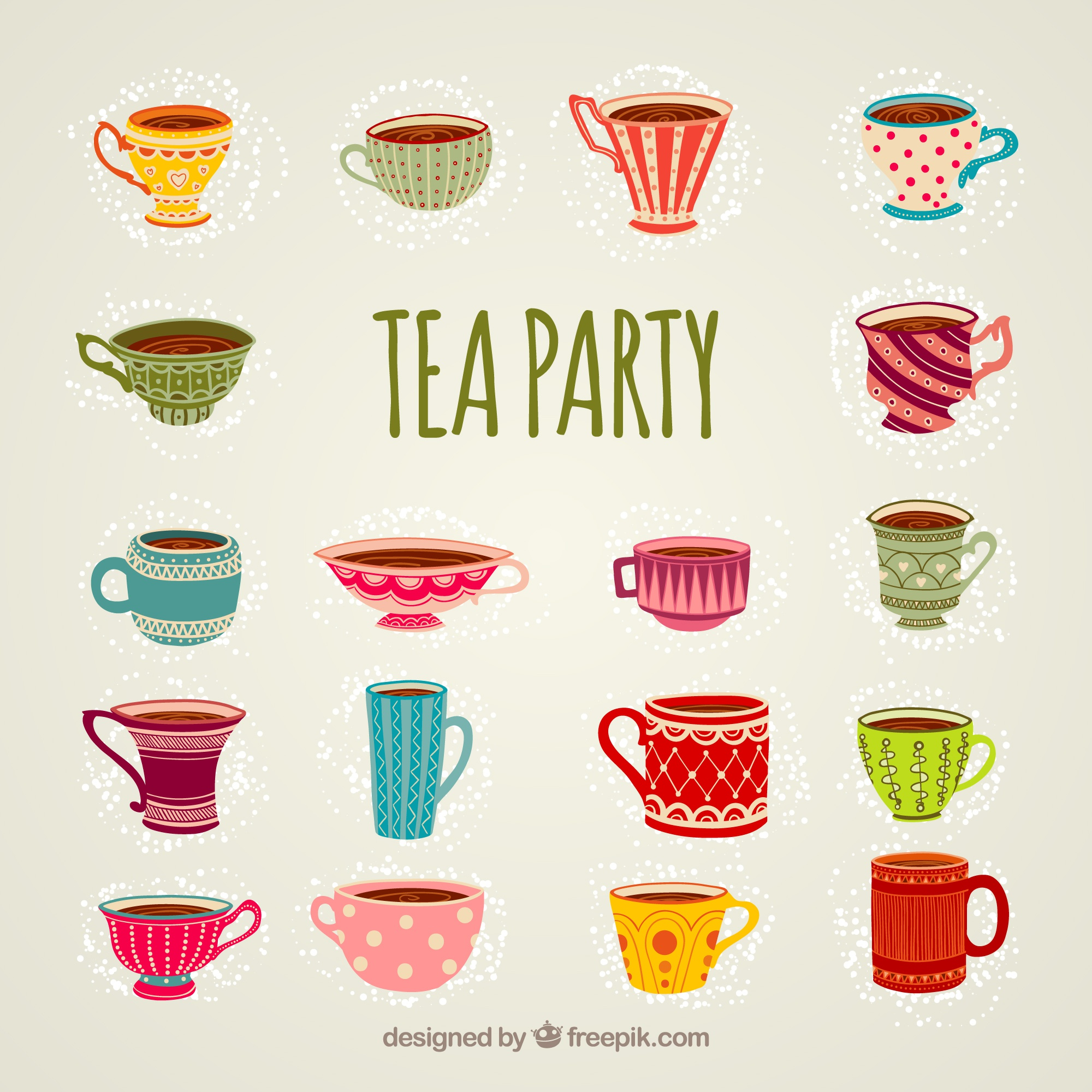 Tazze per tea party