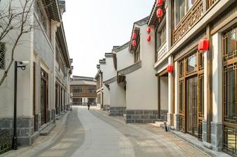 Tipica strada del villaggio