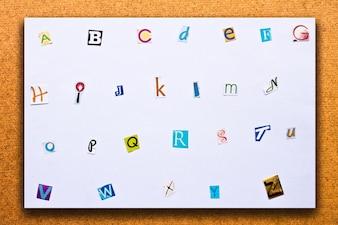 Tipo di parola stampa del testo typeset