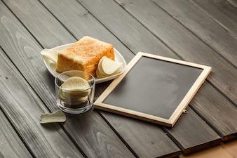 Toast e patatine