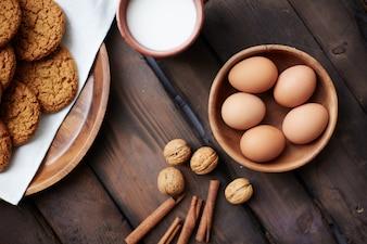 Tradizione cristianesimo biscotto composizione tovagliolo