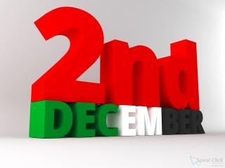 Uae nazionale ° giorno dicembre