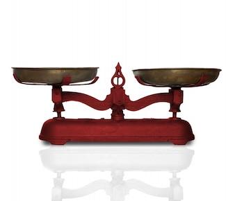 Vecchio equilibrio per pesare
