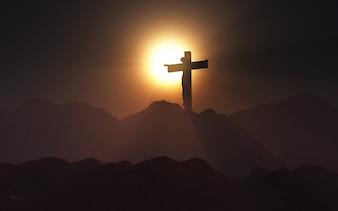 Venerdì Santo a un tramonto