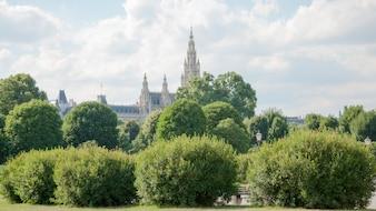 Vista dal palazzo di hofburg