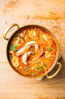 Zuppa di gamberi piccante