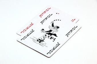 2 cartões do palhaço