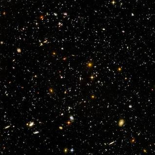 infinidade infinito espaço galáxias do universo