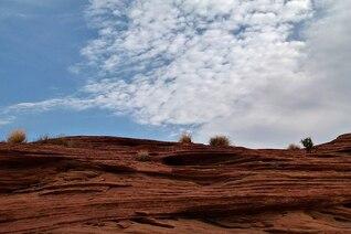 rochas erosão vale Arizona EUA canyon deserto
