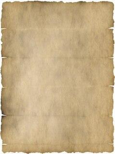 velho pergaminho vezes papelaria papel dobrado kink
