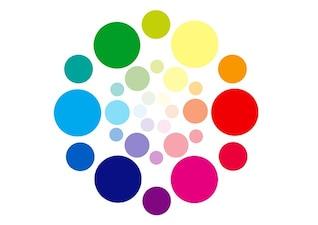 bordado cor círculo esquema dab