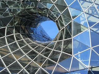 Alemanha edifício de vidro frankfurt projeto