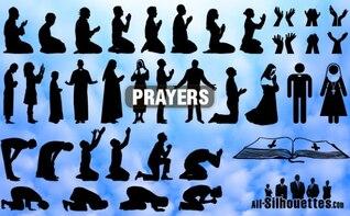 orações todas as silhuetas