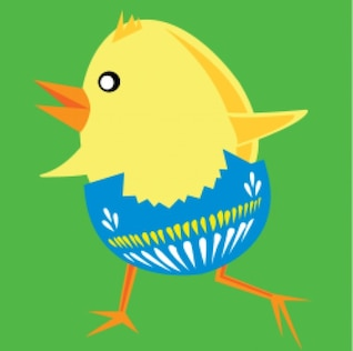 galinha da Páscoa