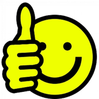 thumbs up smiley