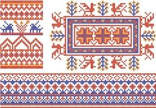 coleção de belorussian nacional pattern2
