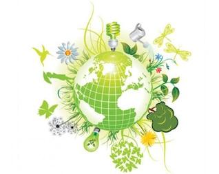 verde símbolos eco