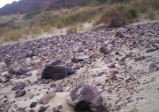 rochas e escórias