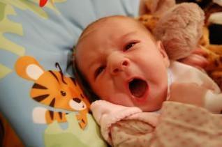 gritos do bebê