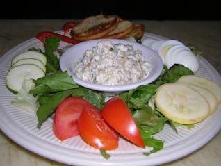 saladas coloridas, morangos