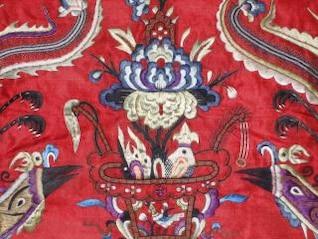 bordado antigo chinês