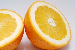 laranja em fatias