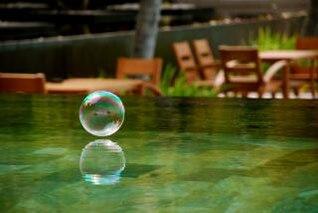 serenidade, piscina