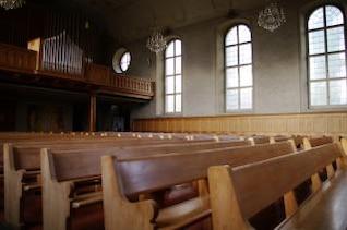 bancos da igreja, os assentos
