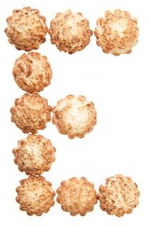 biscoito empilhados