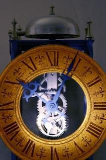 Velho relógio, numerais