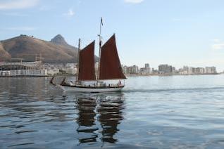espírito iate de victoria em Table Bay
